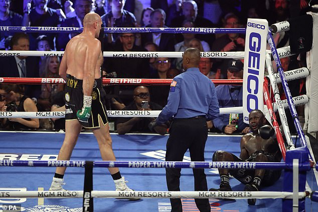 Fury beat Deontay Wilder in February 2020 but the American now has a chance for revenge