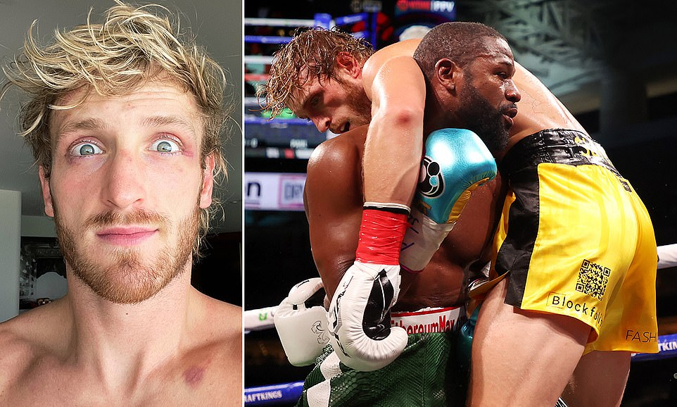 LOGAN PAUL INSISTS HE'S 'NOT TOO BAD' AFTER MAYWEATHER FIGHT: Logan Paul says he's 'not too bad' after surviving eight rounds with Floyd Mayweather in their exhibition fight on Sunday. The YouTuber-turned boxer managed to avoid being knocked out by the undefeated Mayweather, who could pocket $100m from the bout depending on TV revenues. Though Mayweather dominated the bout, Paul indicated he had not come off worse for wear.