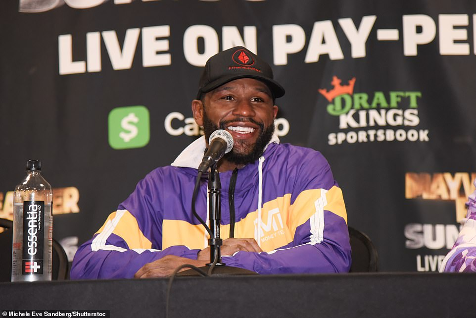 Mayweather claimed he could earn as much as $100million (£71m) in total from the fight when PPV figures and everything else was accounted for. However, Dave Meltzer, an American journalist whose calculations of pay-per-view buys are well-respected in boxing, has estimated that Mayweather v Paul garnered between 600,000 and 650,000 buys. Mayweather is understood to be entitled to 50 per cent of the PPV buys for the event - priced at $49.99 (£35) in the States - equating to roughly $16.5m (£11.6m), according to The Mirror.