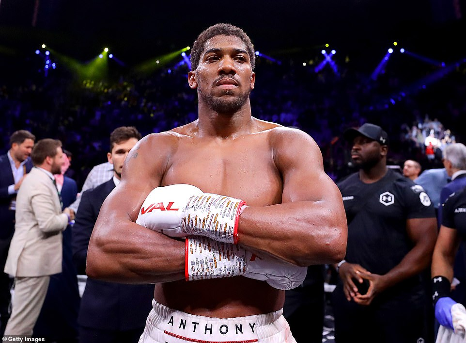 AJ's promoter told DAZN: 'I can tell you that this week, that this is a more confident footing than the Joshua - Fury negotiations, because I know Alex Krassyuk (Usyk's promoter) very well, and I know Usyk very well. This week that fight will be signed. We're looking at September in London. Just finalizing the details. It's a great fight, a dangerous fight, it's not the one we necessarily wanted or expected.'