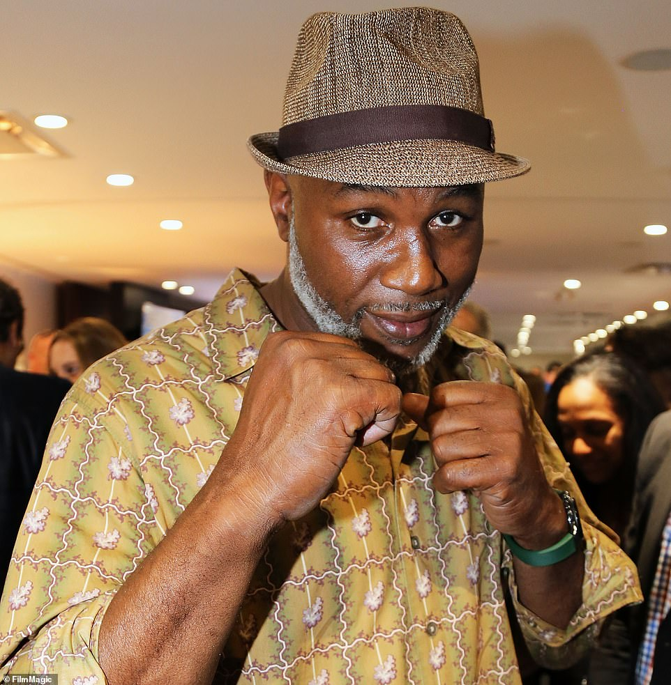 Tyson's coach Rafael Cordeiro has revealed negotiations are ongoing over a TV deal for his next fight, which will take place in September. No opponent has yet been decided but his once-fierce rivals Lennox Lewis (pictured) and Evander Holyfield are both possibilities, having expressed their interest in stepping back into the ring.
