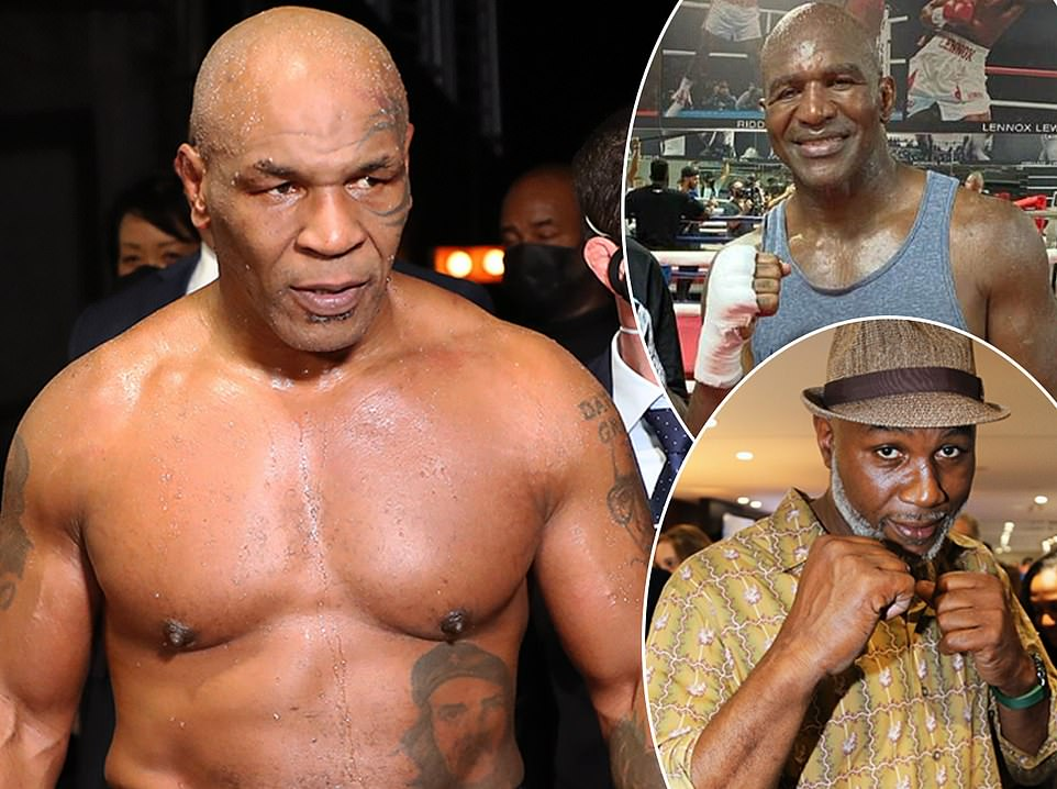 MIKE TYSON CONFIRMS HIS RETURN TO THE RING: Mike Tyson's coach says the heavyweight legend will return to the ring for another exhibition fight in September. Tyson, 54, made a sensational comeback to boxing when he fought fellow ex-world champion Roy Jones Jr in an eight-round bout last November. The former heavyweight king, who turns 55 at the end of this month, insisted after that fight he would continue to put on more exhibitions and is already in training for his next one.