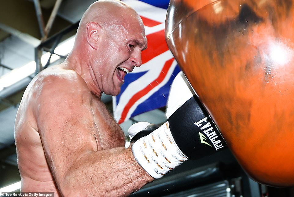 TYSON FURY IS A 'MAN ON A MISSION': According to one of his training partners, Tyson Fury has been sparring 15 rounds with no breaks in 97-degree sauna conditions and will be ready to fight next week. The Gypsy King is deep into his training camp for his heavyweight trilogy clash against Deontay Wilder, which will be his first fight back since dethroning him almost a year and a half ago.