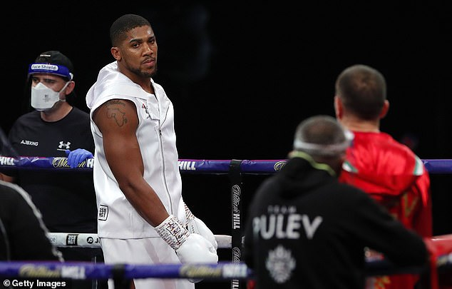 Joshua has been frustrated on the sidelines since beating Kubrat Pulev in December last year
