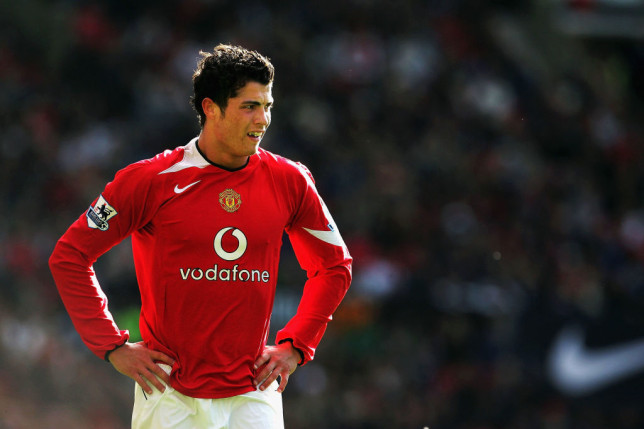 Ronaldo rose to prominence at Old Trafford